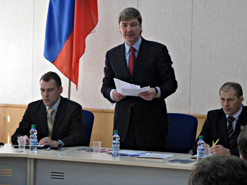 Председатель ФФ РК Собинский В.Г