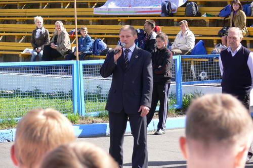 Глава Госкомспорта Карелии - Антипов М.Л.